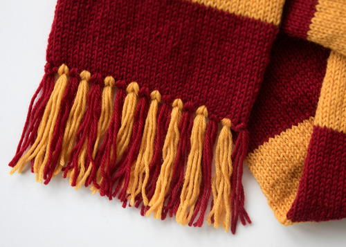 Hogwarts Scarf AllFreeKnitting Awesome Hufflepuff Scarf Pattern