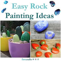 25 Easy Rock Painting Ideas for Beginners