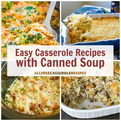 Canned soup recipes 15 easy casserole recipes with canned soup casserole recipes are known for being an easy and delicious way to prepare a meal for your family easy meal preparation saves you valuable time in the forumfinder Images