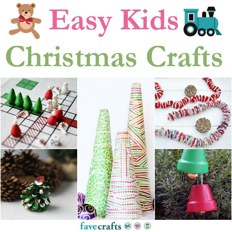 20 Easy Kids Christmas Crafts | FaveCrafts.com