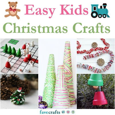 20 Easy Kids Christmas Crafts Favecrafts