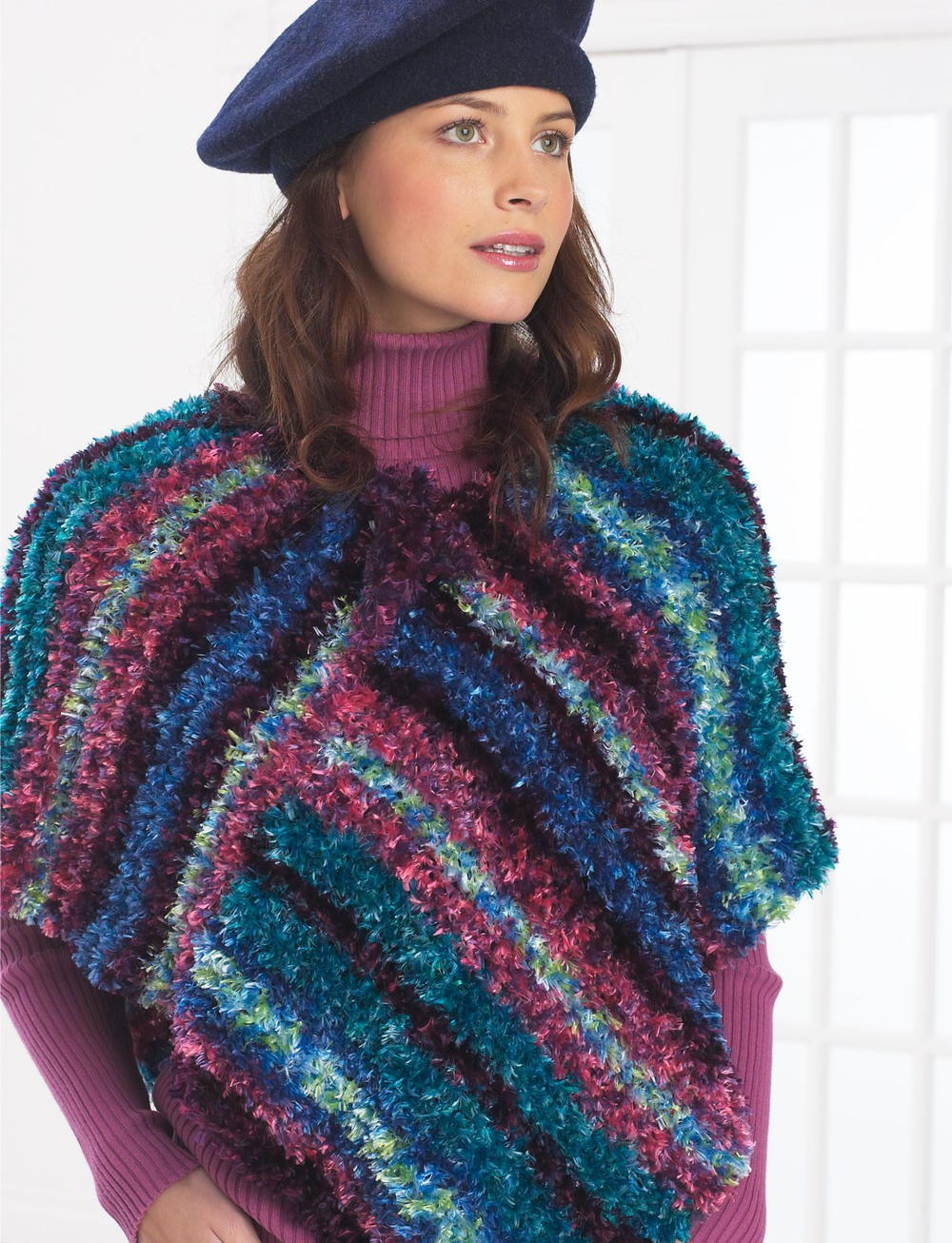 Free Crochet Pattern For Adult Poncho Favecrafts