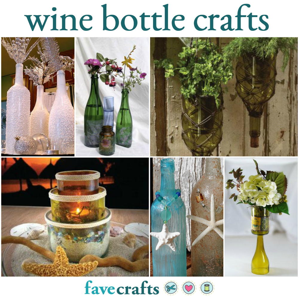 30+ Things to Do With Old Wine Bottles | FaveCrafts.com