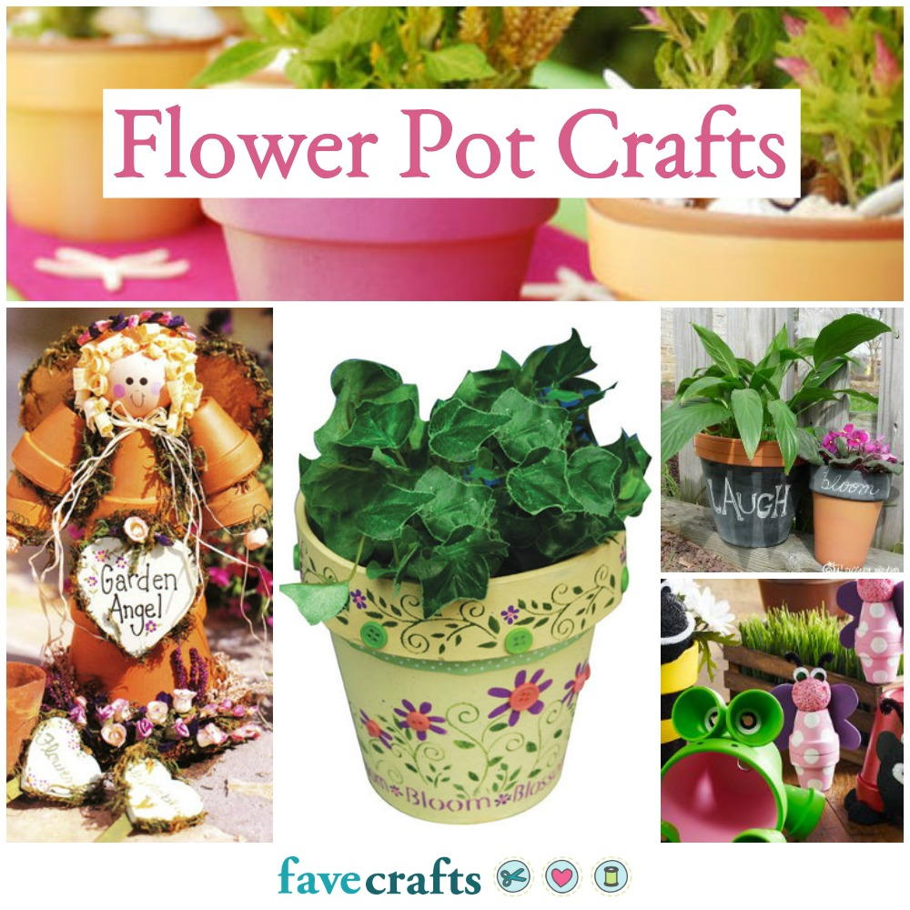 Flowerpots with their own hands to give 57