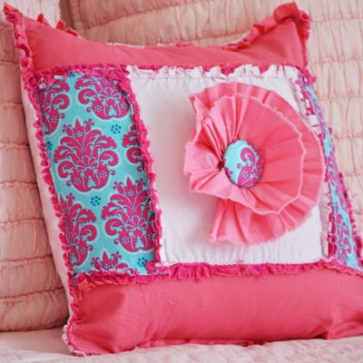 How To Sew A Pillow With Ruffles