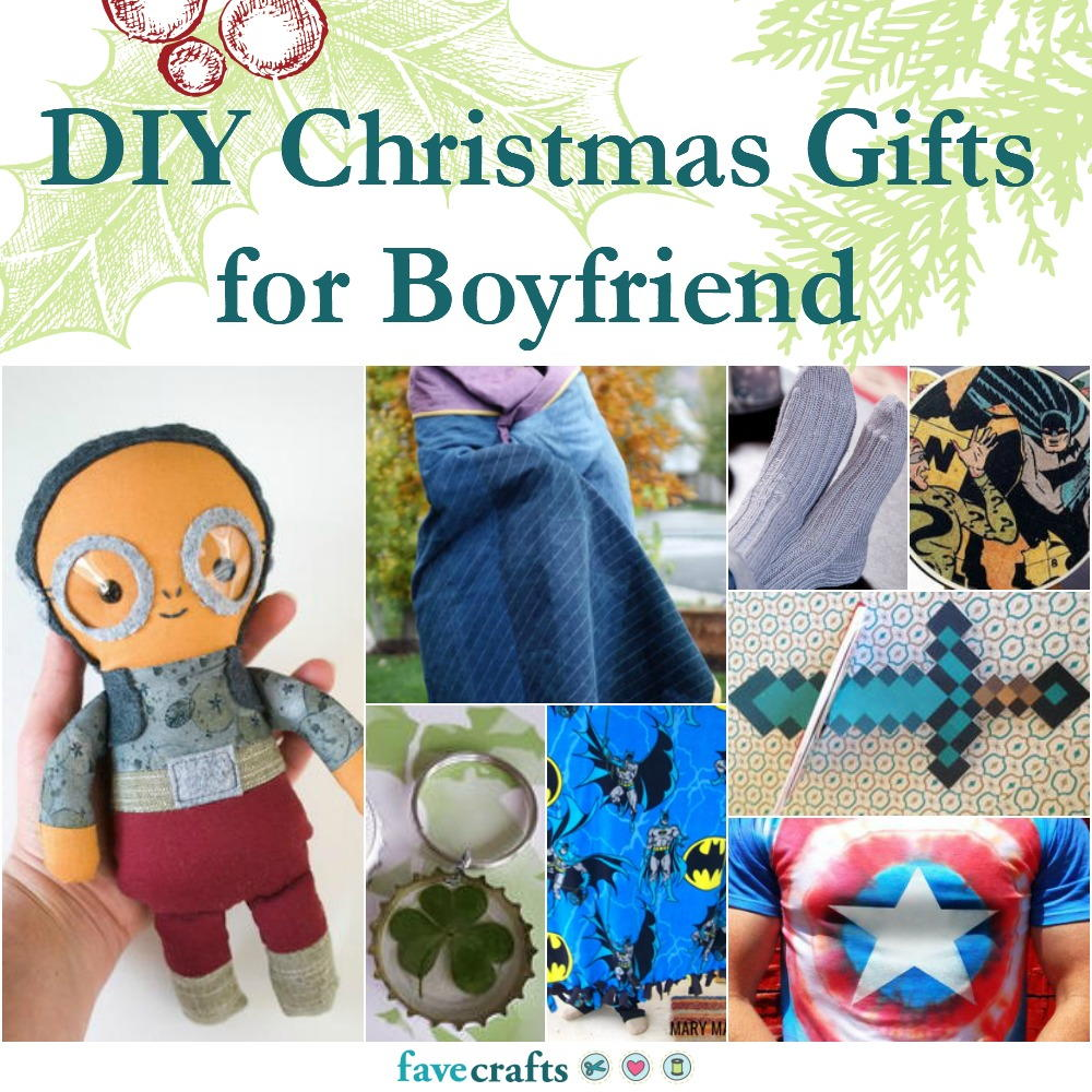 42 diy christmas gifts for boyfriend favecrafts.com