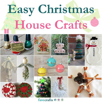 christmas home decor craft ideas 123 easy christmas house crafts favecrafts 12000
