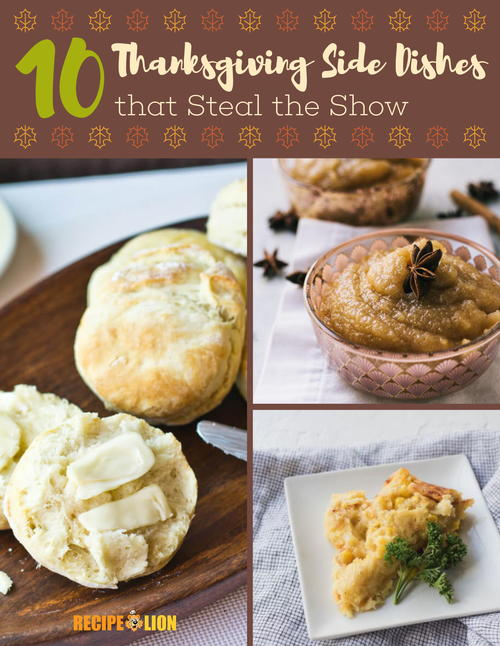 10 Thanksgiving Side Dishes that Steal the Show Free eCookbook