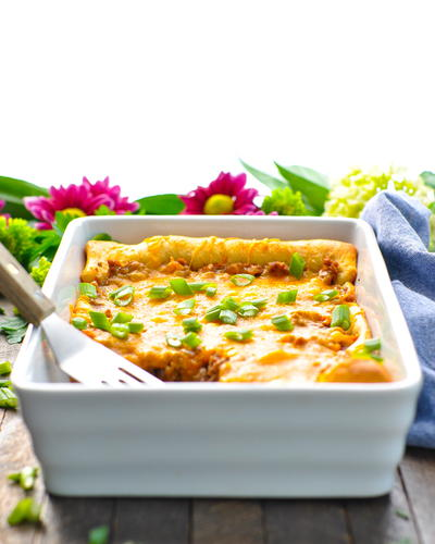 4-Ingredient Crescent Roll Ground Beef Casserole
