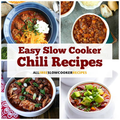 19 Easy Slow Cooker Chili Recipes