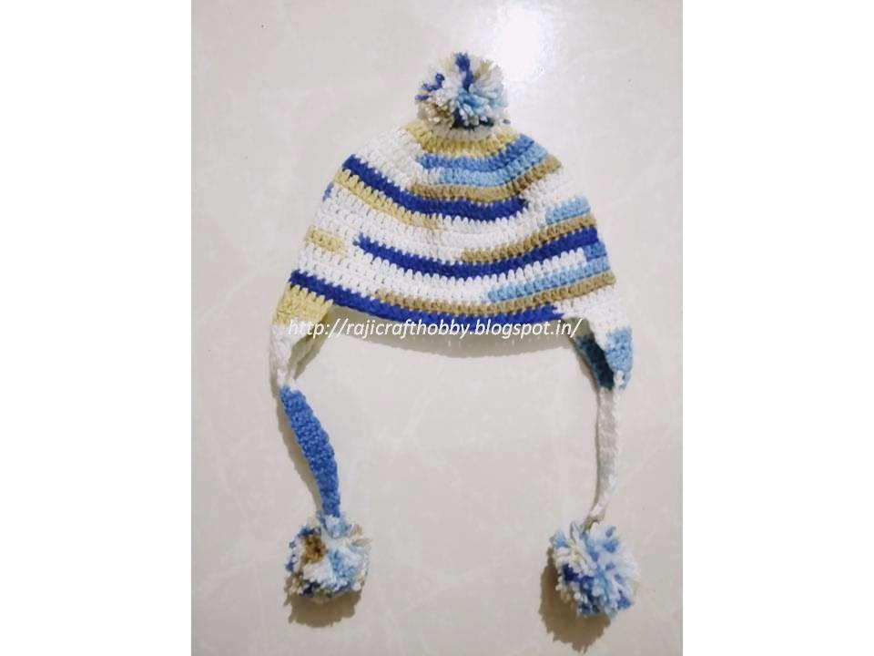 Baby Crochet Cap With Ear Flaps Allfreecrochet
