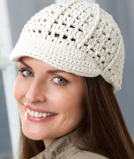 Crochet Newsboy Hat Pattern Favecrafts