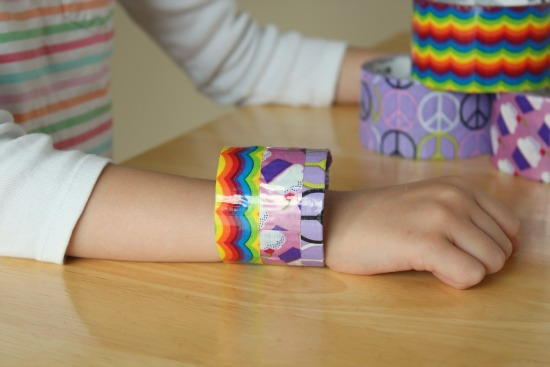 So Cute Duct Tape Bracelets and Wands