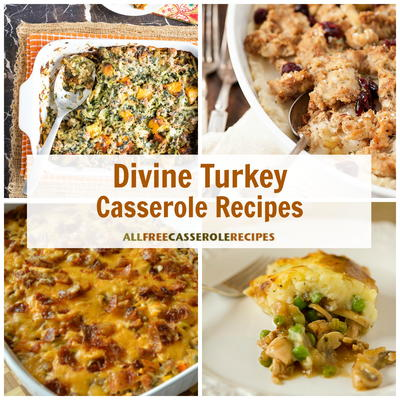 14 Divine Turkey Casserole Recipes