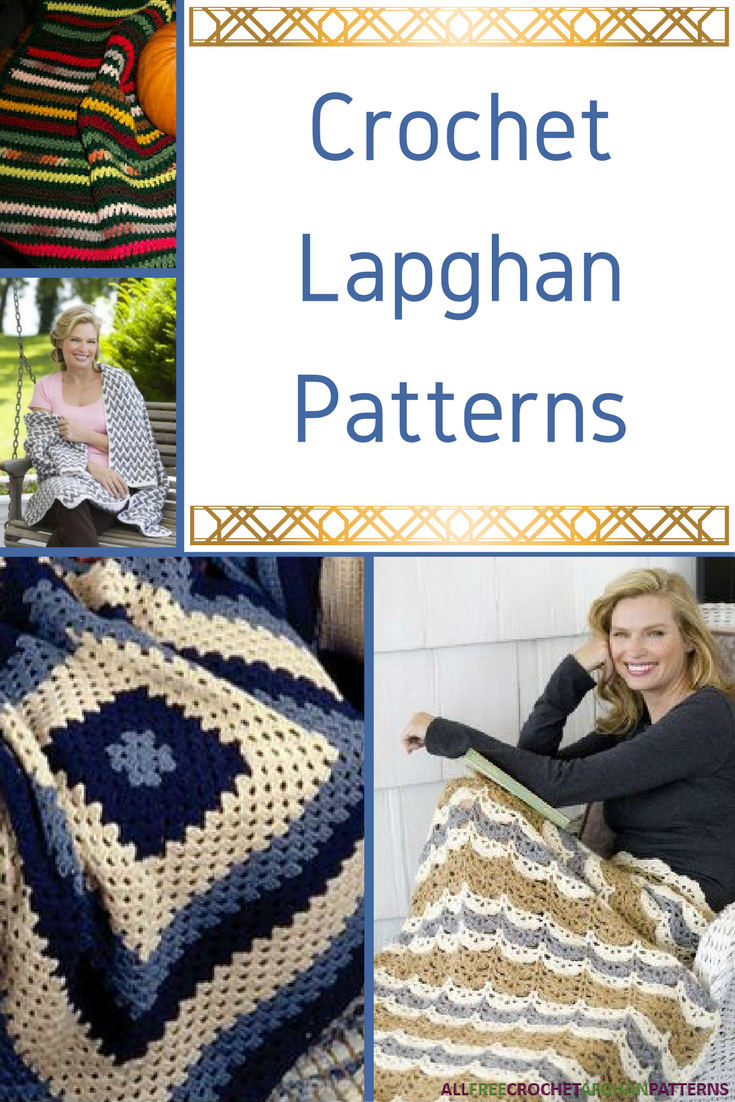 13 Crochet Lapghan Patterns | AllFreeCrochetAfghanPatterns.com