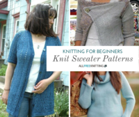 Knitting for Beginners: 29 Speedy Sweaters