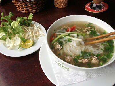 Pho with Coconut Oil