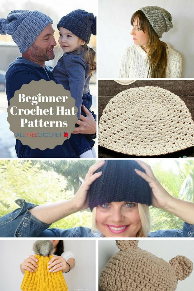 50 free beginner crochet hat patterns allfreecrochet bankloansurffo Images