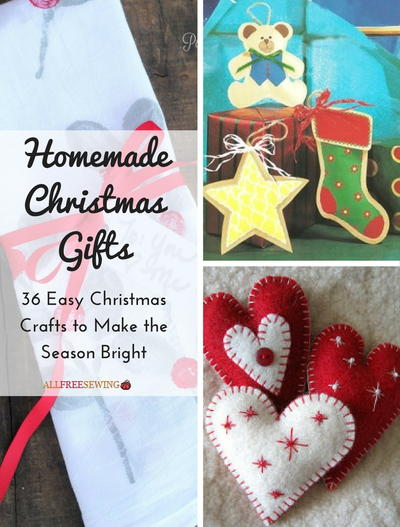 homemade christmas gifts 36 easy christmas crafts to make the season bright - Easy Christmas Gifts To Make