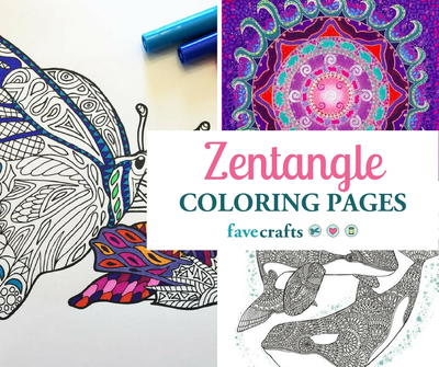 16 zentangle coloring pages favecrafts zentangle coloring pages fandeluxe Image collections