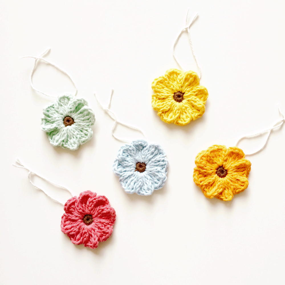 Zoe Crochet Flower Pattern Tutorial Allfreecrochet