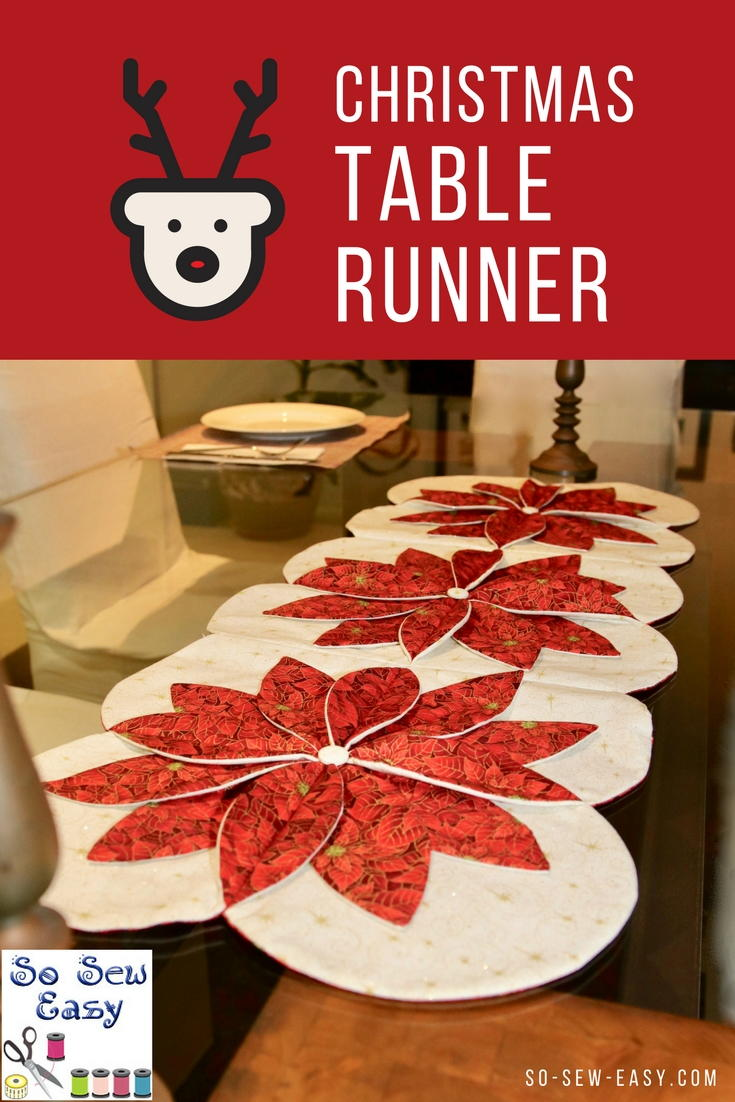 Christmas Table Runner Free Sewing Pattern | AllFreeSewing.com