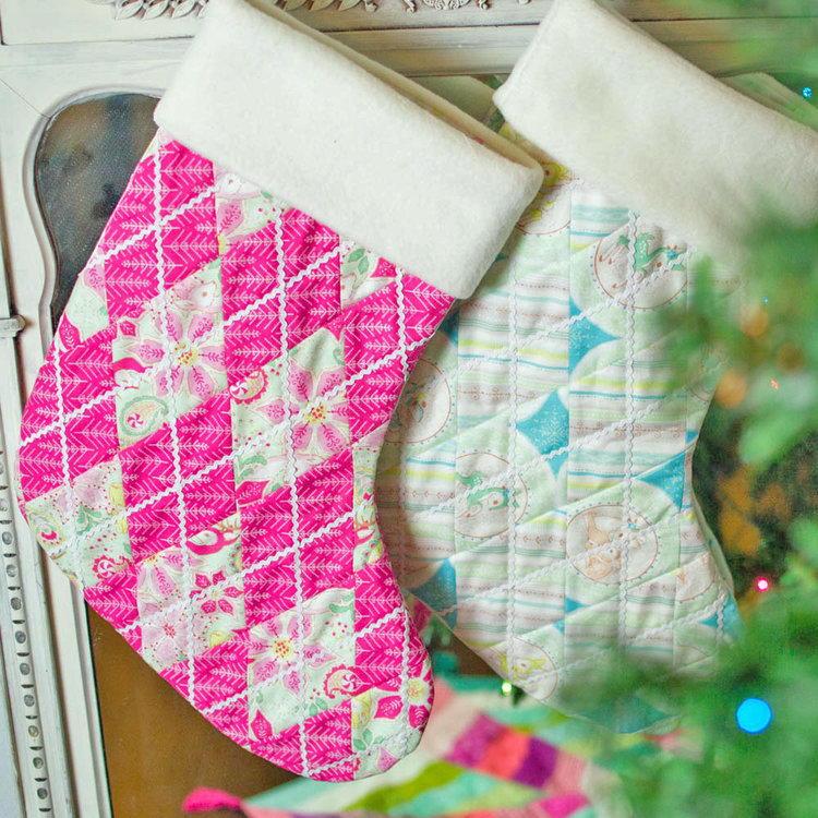 adorable argyle christmas stocking pattern allfreesewingcom - Extra Large Christmas Stockings