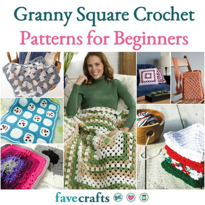 Granny Square Crochet Patterns for Beginners