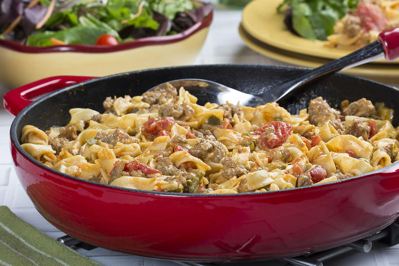 Mr food recipes youngstown ohio wkbn all in one sausage dinner forumfinder Choice Image