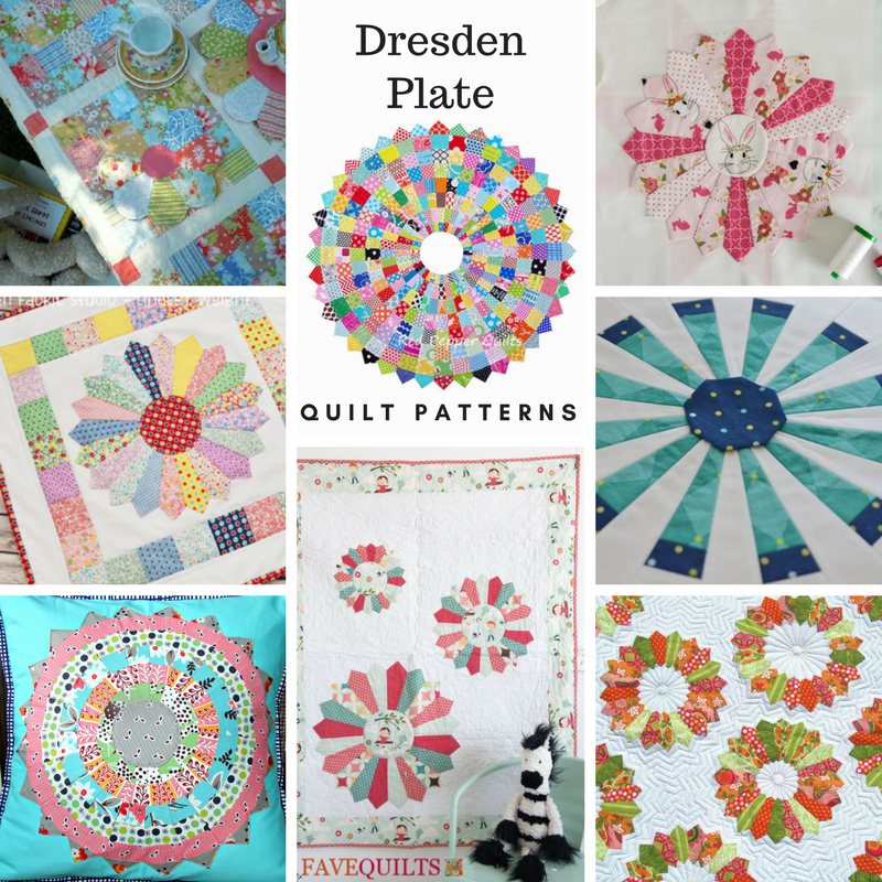 12 Dresden Plate Quilt Patterns   FaveQuilts.com : dresden quilt pattern - Adamdwight.com