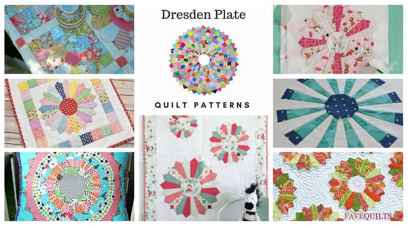 12 Dresden Plate Quilt Patterns Favequilts Com