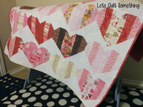 Love Booth Lap Quilt