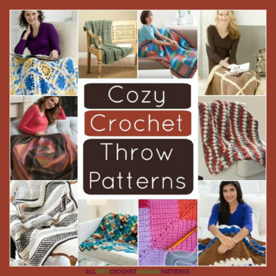 39 Cozy Crochet Throw Patterns