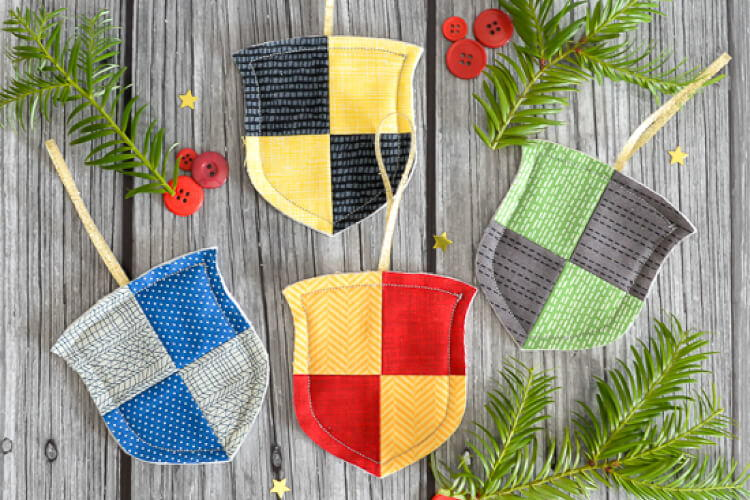 Hogwarts House Christmas Ornaments Favequilts Com