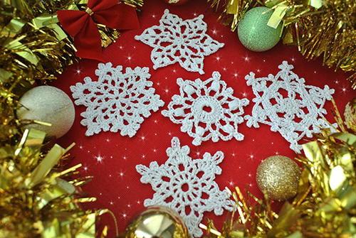5 Free Crochet Snowflake Patterns Allfreecrochet