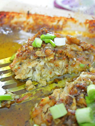 Baked Honey Mustard Fish