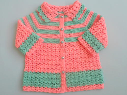 Crochet Baby Sweater Coatjacket Favecrafts