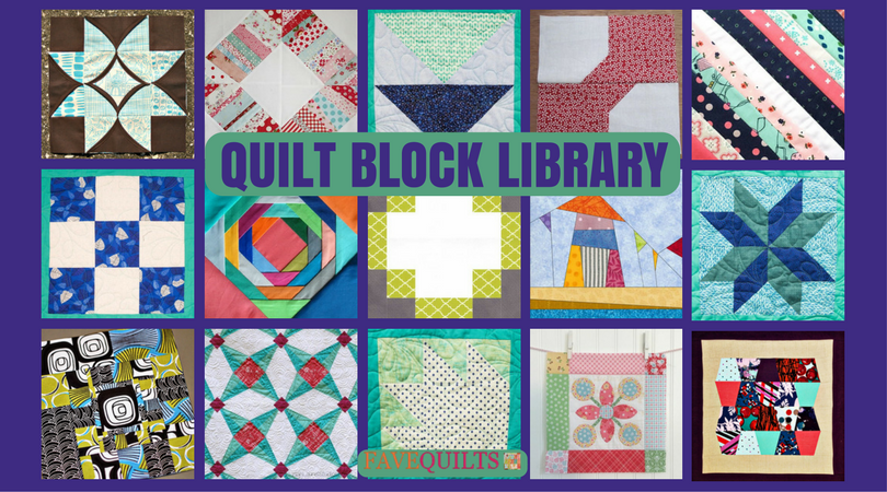 Quilt Block Library | FaveQuilts.com : quilt block library - Adamdwight.com