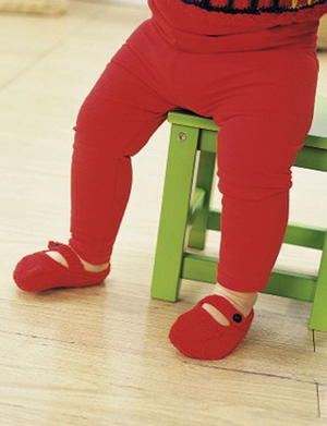 Little Red Slippers