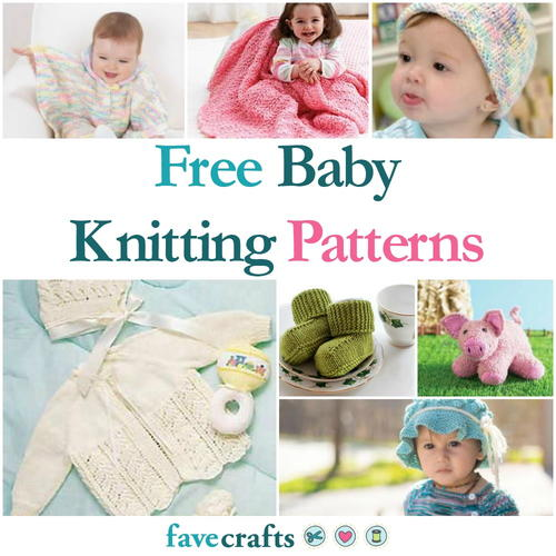 59 Free Baby Knitting Patterns Favecrafts
