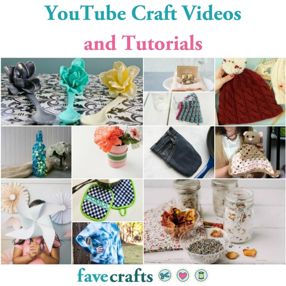 73 Youtube Craft Videos And Tutorials Favecrafts