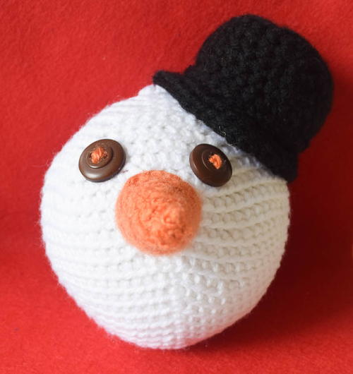 Snowdude Stress Ball or Ornament