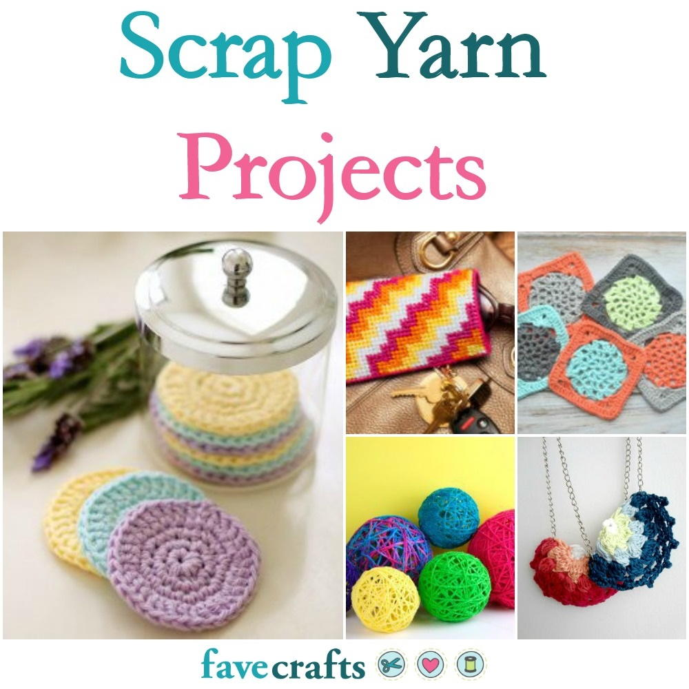 53 Scrap Yarn Projects | FaveCrafts.com