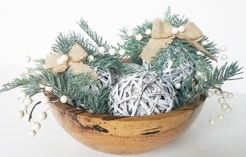 Rustic Grapevine Ornaments