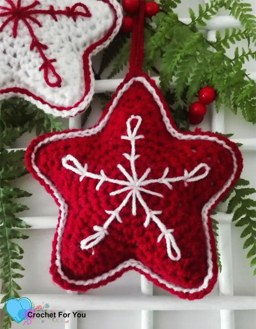 Christmas Crochet Star
