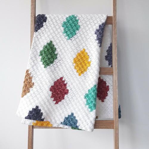 Crochet Harlequin Graphghan Allfreecrochet