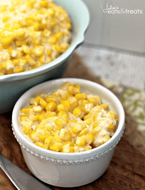 The Best Cheddar Creamed Corn Ever