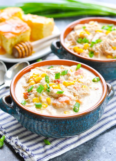 The Best Slow Cooker White Chili