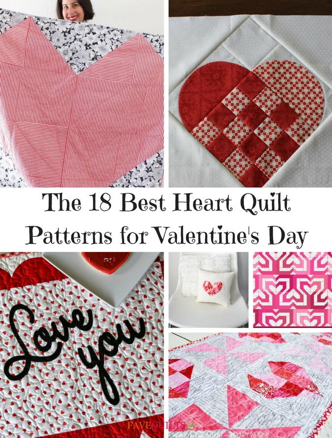 The 18 Best Heart Quilt Patterns For Valentine S Day