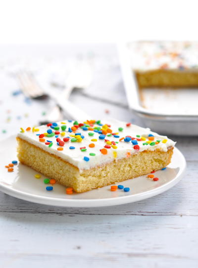 Chi-Chi's Famous White Texas Sheet Cake